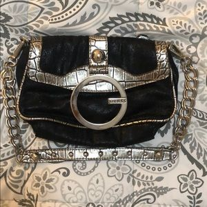 Vintage Guess Handbag with Removable Chain Strap